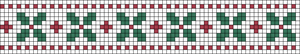 Alpha Friendship Bracelet Pattern #21024