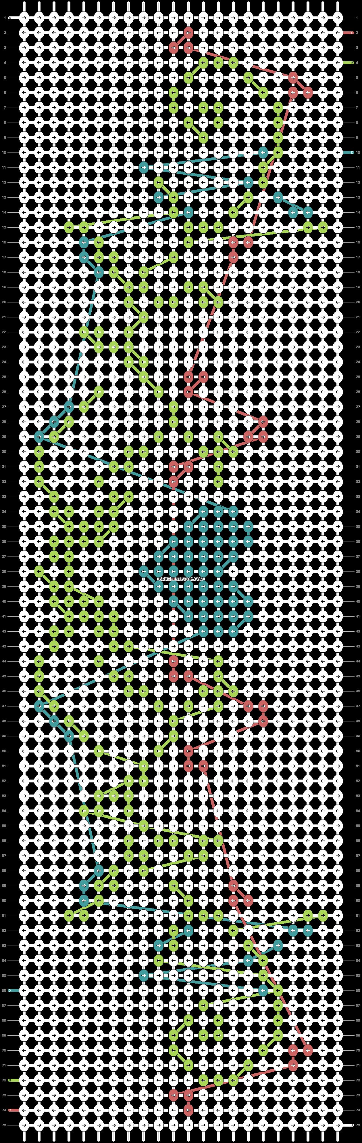 Alpha pattern #21025 pattern