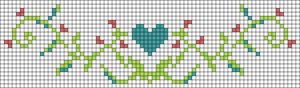 Alpha pattern #21025