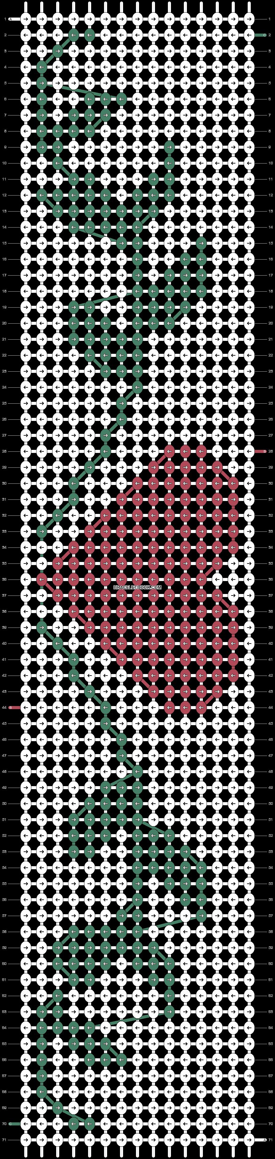 Alpha pattern #21026 pattern
