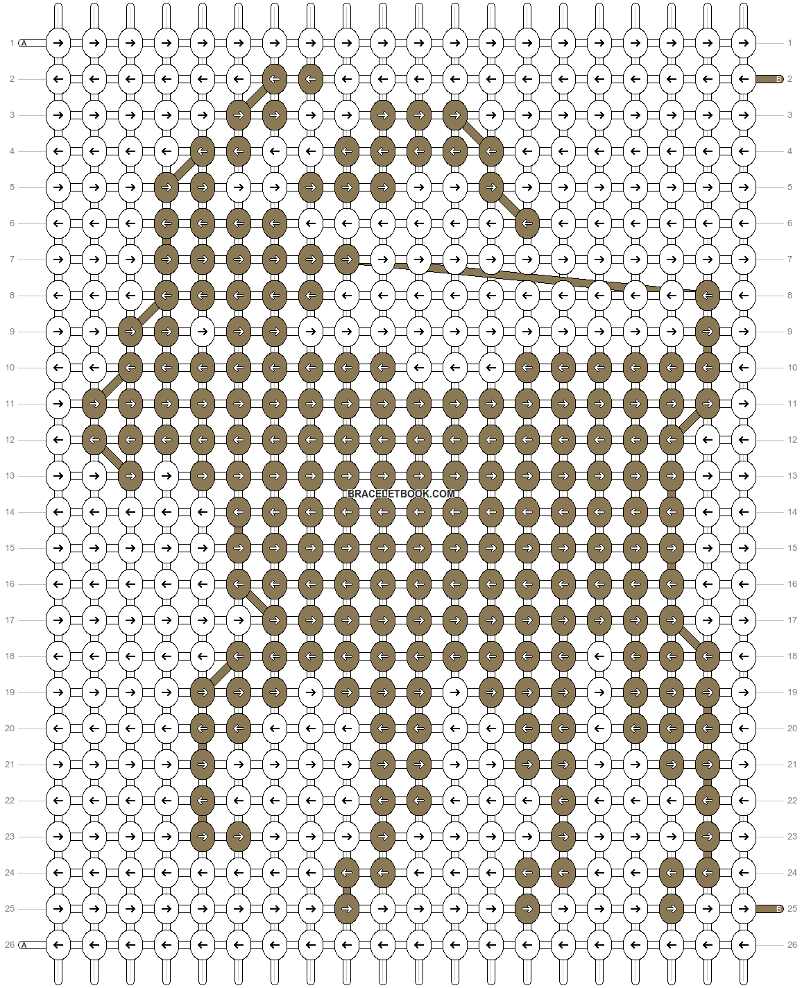 Alpha pattern #21033 pattern