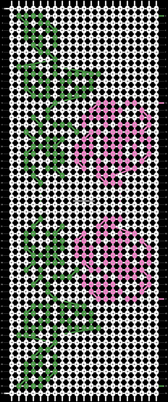 Alpha pattern #21035 pattern