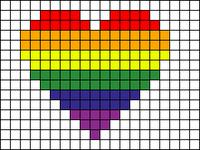 Alpha Friendship Bracelet Pattern #21038