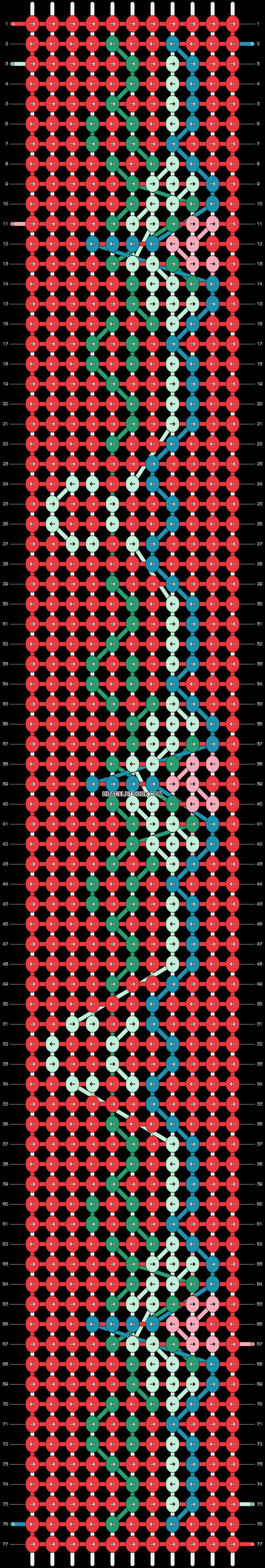 Alpha pattern #21039 pattern