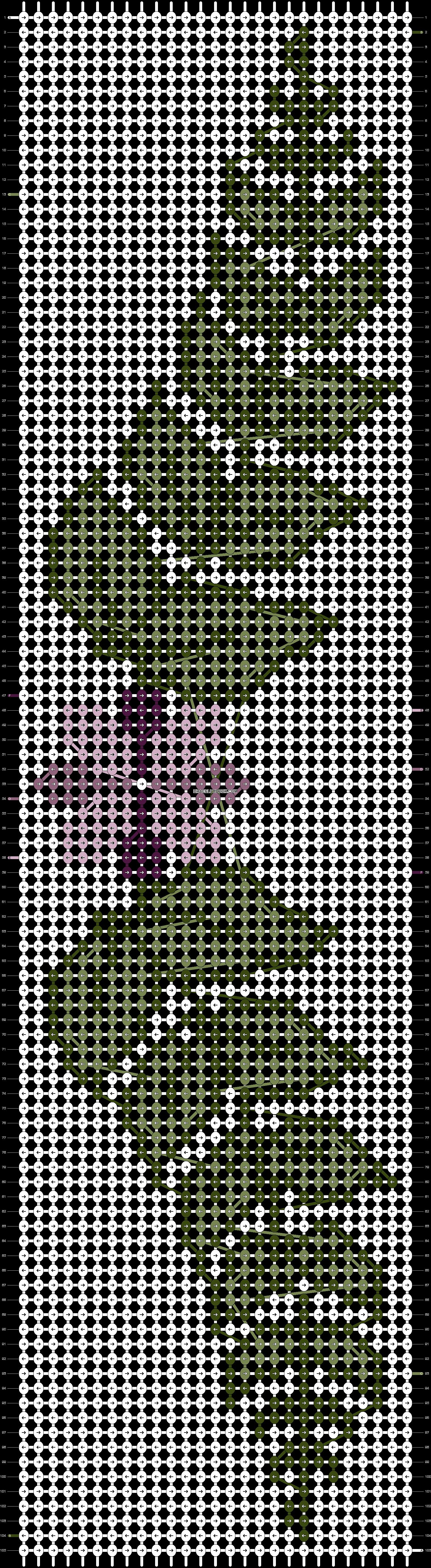 Alpha pattern #21040 pattern