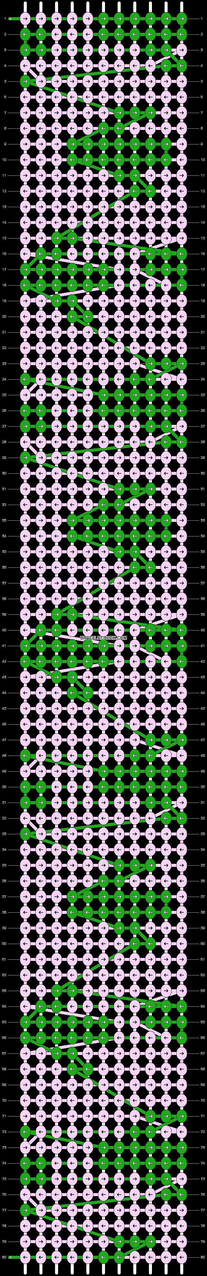 Alpha pattern #21041 pattern