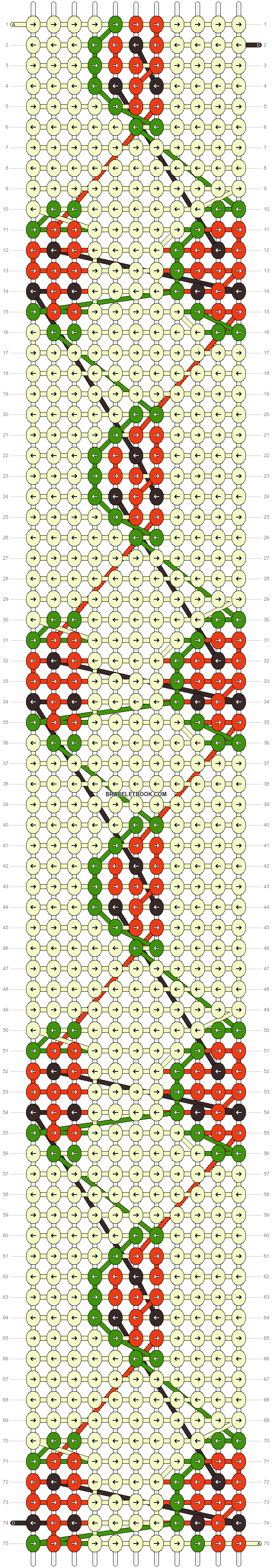 Alpha pattern #21042 pattern