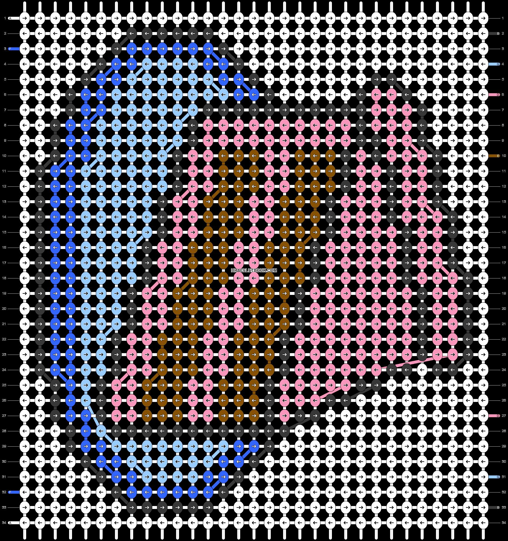 Alpha pattern #21044 pattern