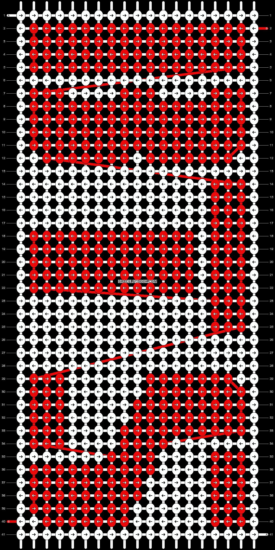 Alpha pattern #21048 pattern