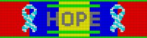 Alpha pattern #21052