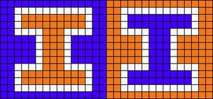 Alpha pattern #21054