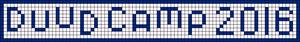 Alpha Friendship Bracelet Pattern #21055
