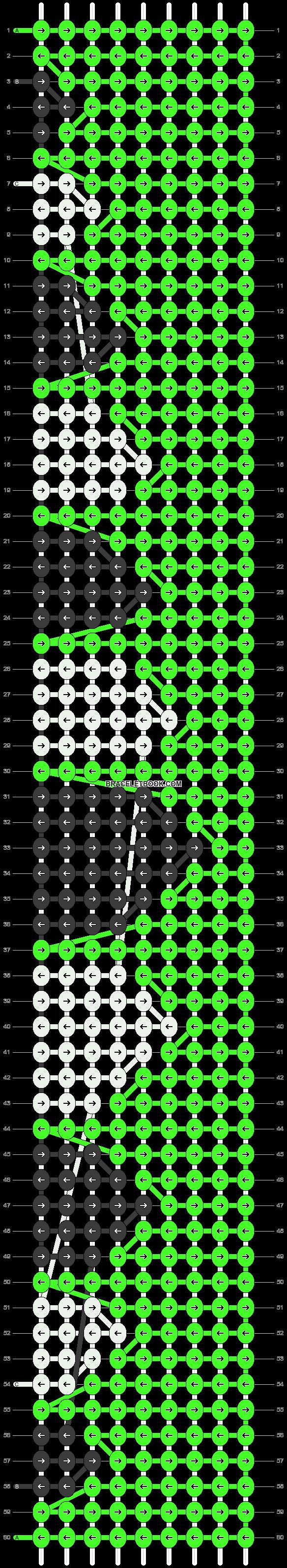 Alpha pattern #21061 pattern