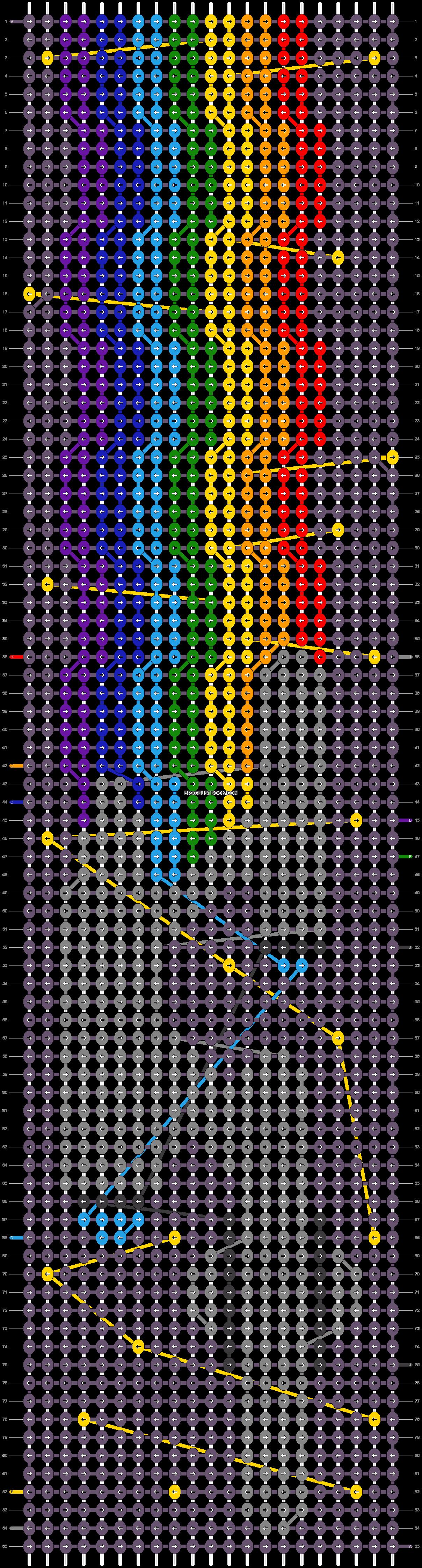 Alpha pattern #21062 pattern
