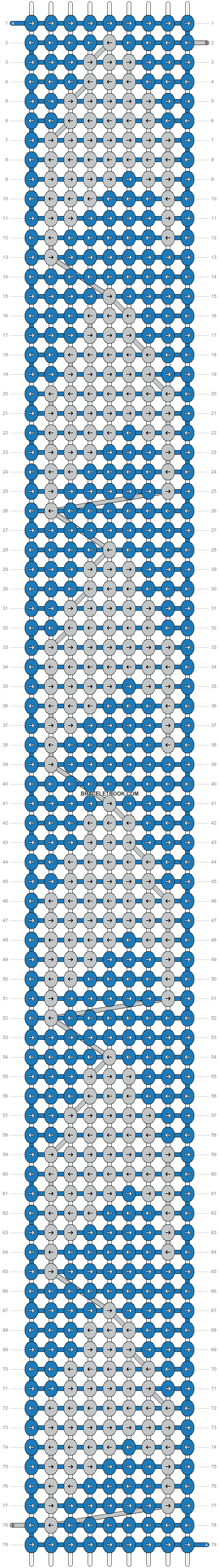Alpha pattern #21064 pattern