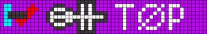 Alpha Friendship Bracelet Pattern #21067
