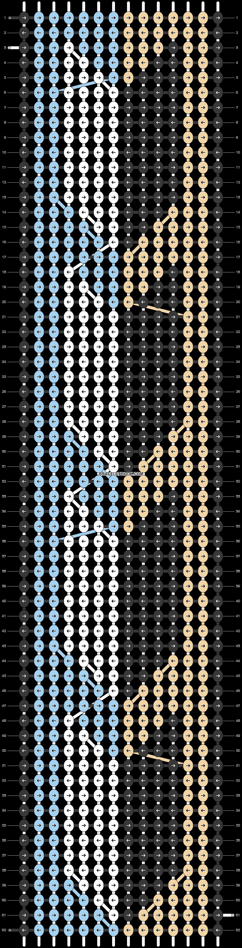 Alpha pattern #21078 pattern