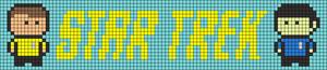 Alpha Friendship Bracelet Pattern #21079
