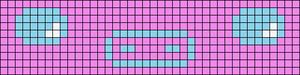 Alpha Friendship Bracelet Pattern #21080