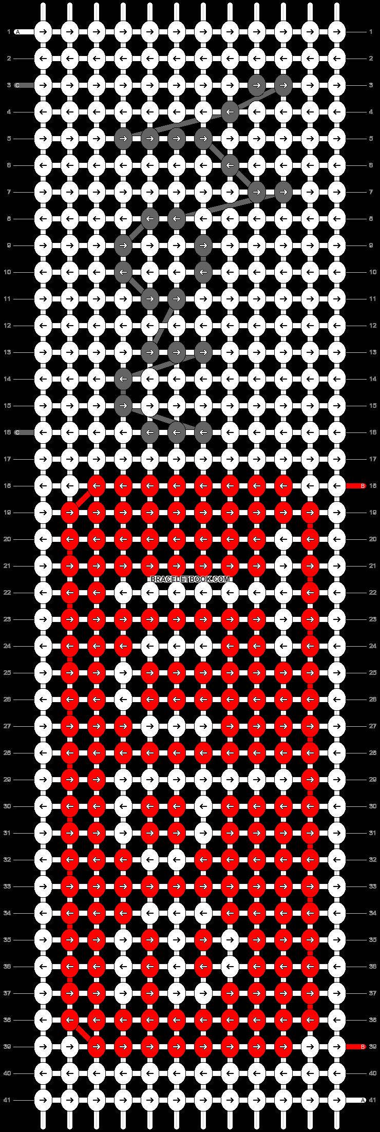 Alpha pattern #21082 pattern