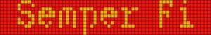 Alpha Friendship Bracelet Pattern #21088