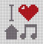 Alpha Friendship Bracelet Pattern #21090
