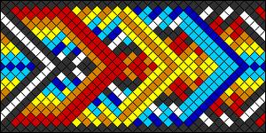 Normal Friendship Bracelet Pattern #21093