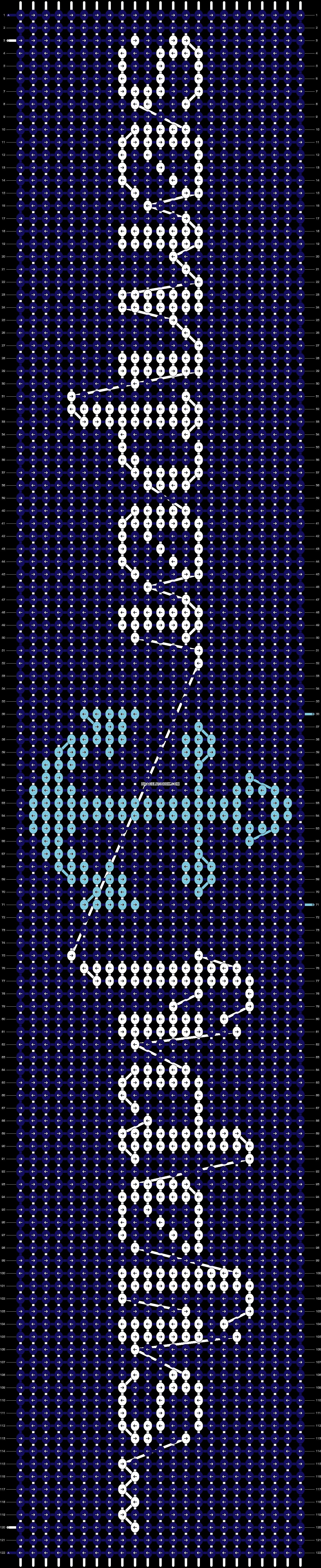 Alpha pattern #21095 pattern