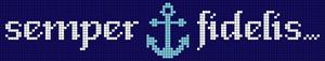 Alpha Friendship Bracelet Pattern #21095