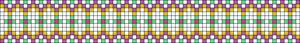 Alpha Friendship Bracelet Pattern #21097