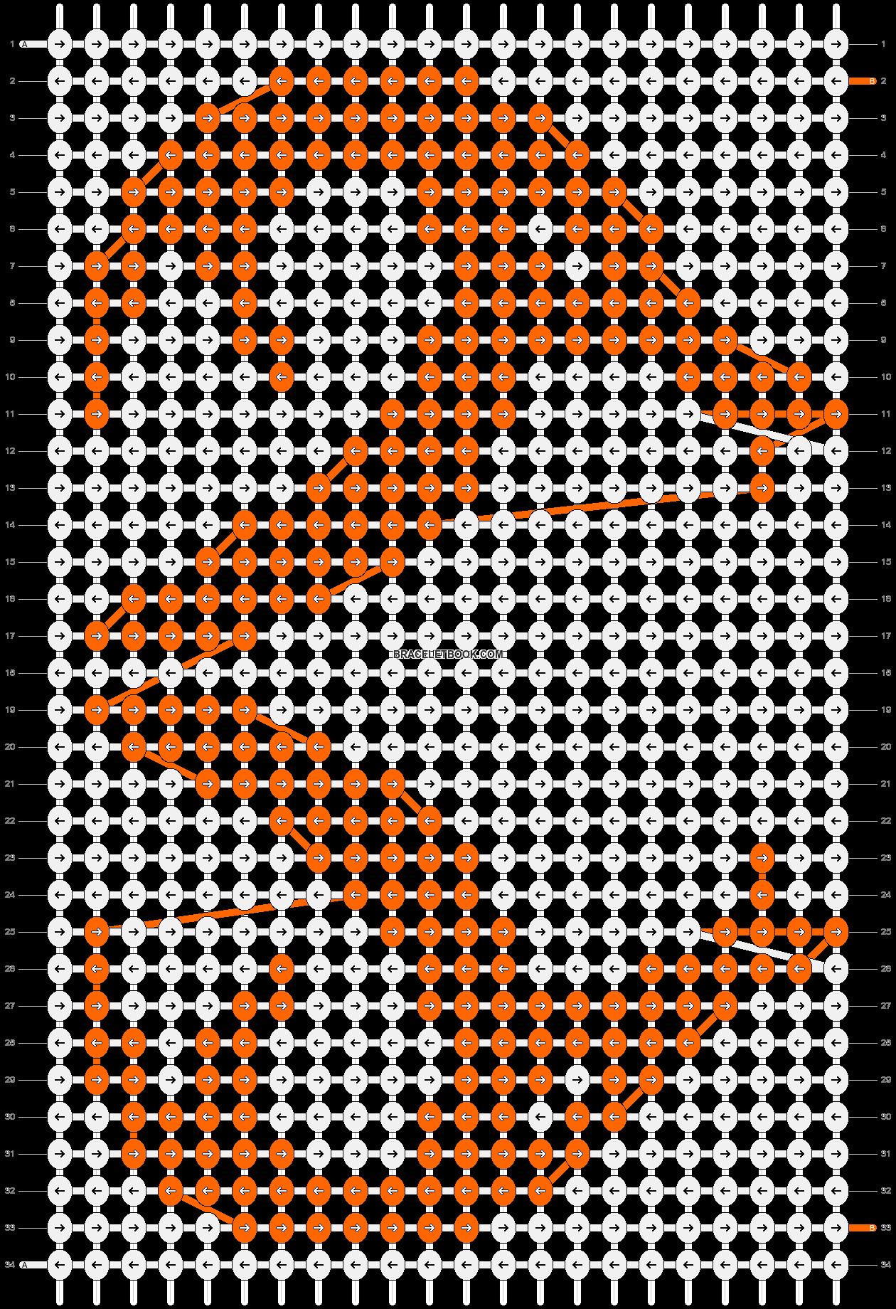 Alpha pattern #21098 pattern