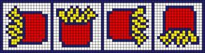 Alpha Friendship Bracelet Pattern #21099