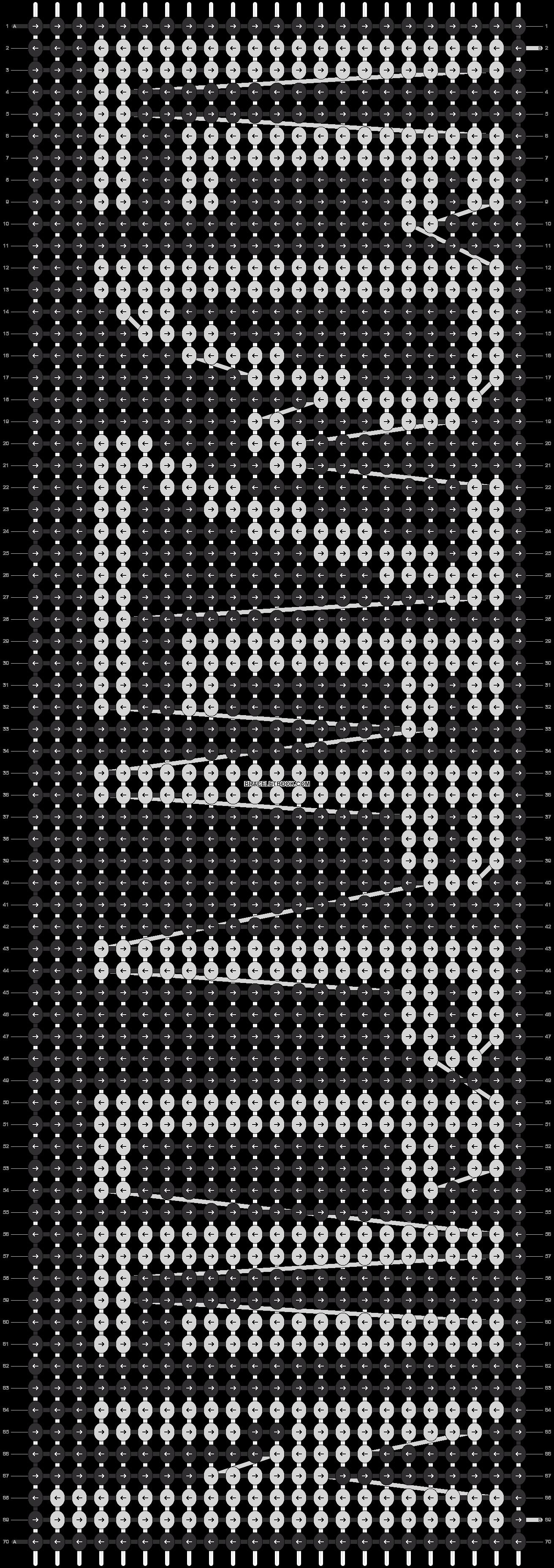 Alpha pattern #21102 pattern