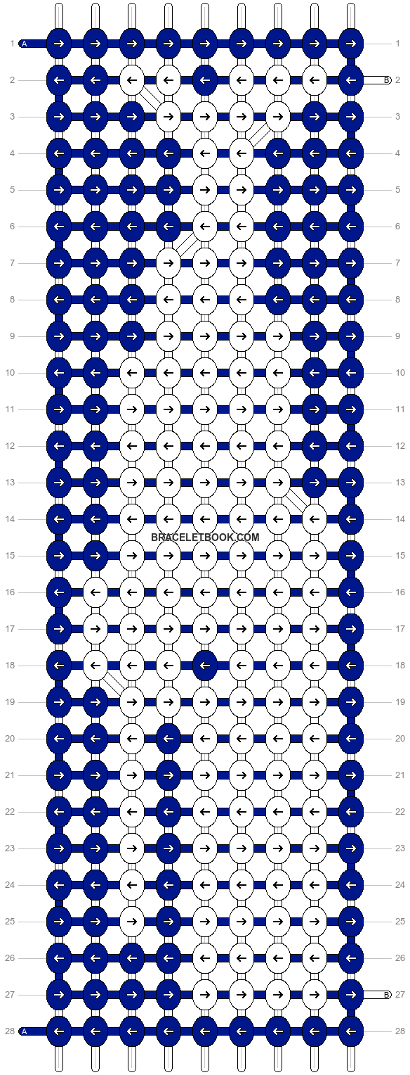 Alpha pattern #21103 pattern