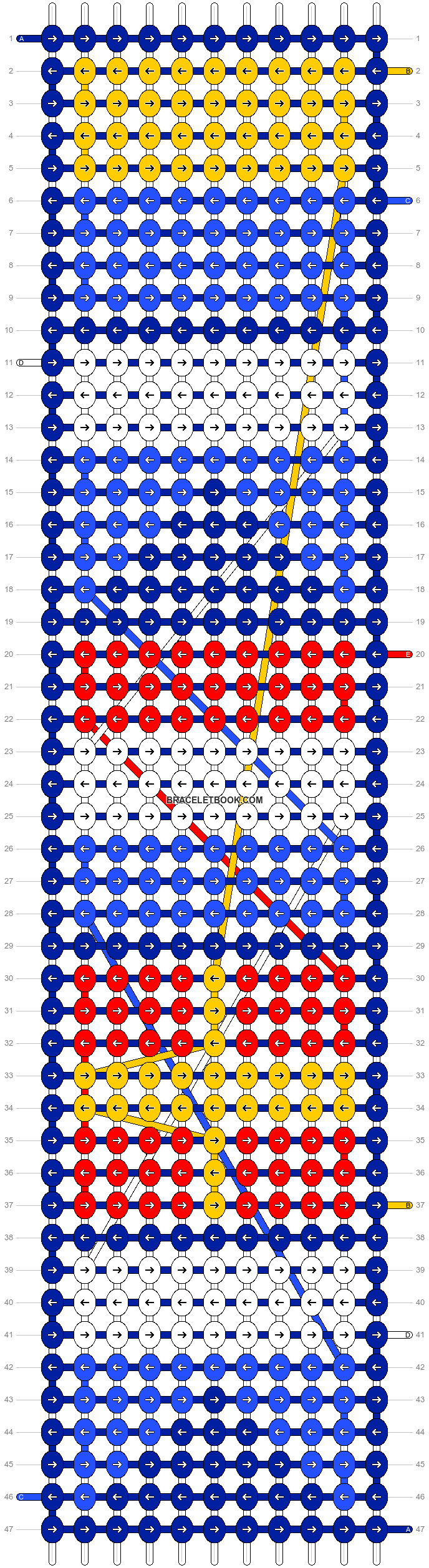 Alpha pattern #21104 pattern