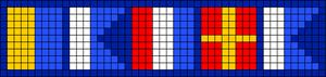 Alpha Friendship Bracelet Pattern #21104