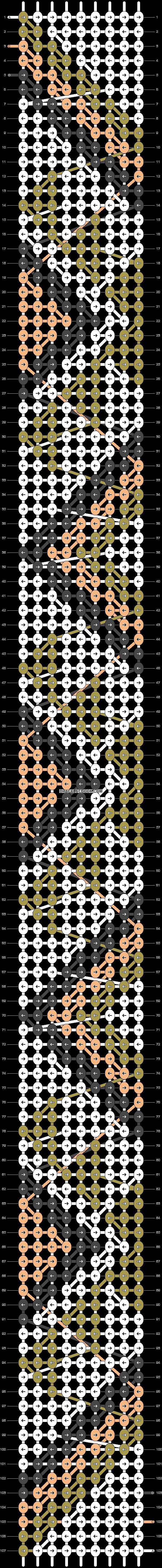 Alpha pattern #21107 pattern
