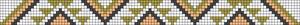 Alpha Friendship Bracelet Pattern #21107