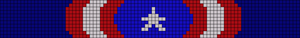 Alpha Friendship Bracelet Pattern #21115