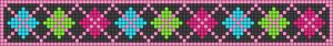 Alpha Friendship Bracelet Pattern #21117