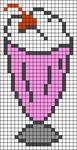 Alpha Friendship Bracelet Pattern #21118
