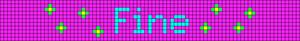 Alpha Friendship Bracelet Pattern #21122