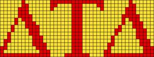 Alpha Friendship Bracelet Pattern #21123