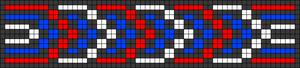 Alpha Friendship Bracelet Pattern #21124