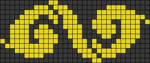 Alpha Friendship Bracelet Pattern #21132