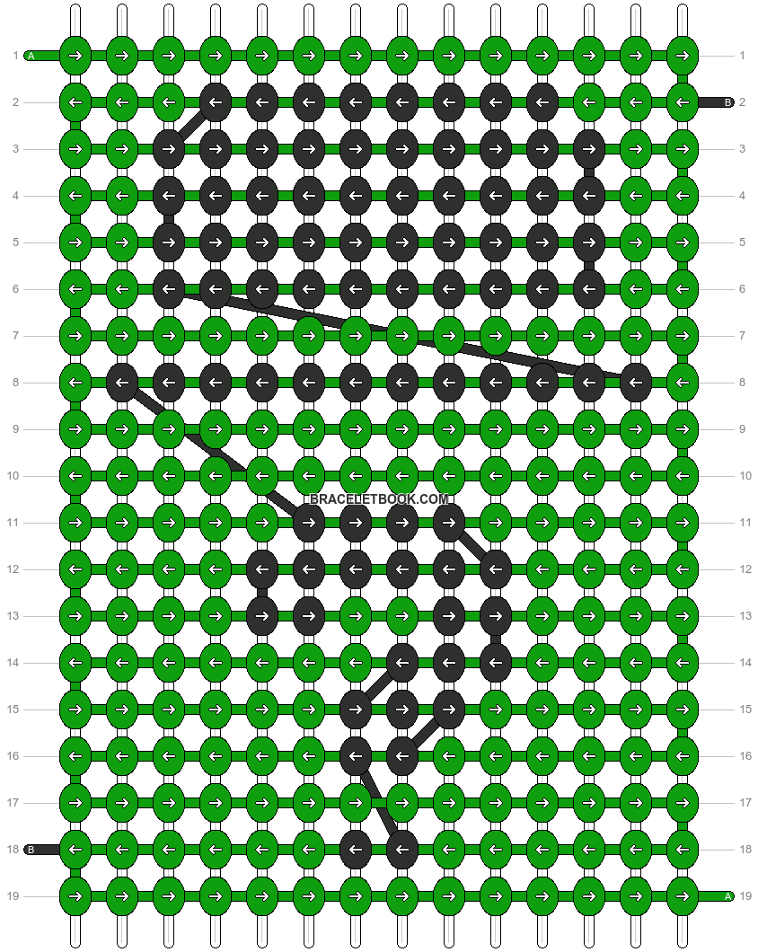 Alpha pattern #21134 pattern
