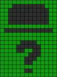 Alpha Friendship Bracelet Pattern #21134