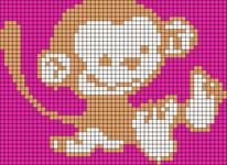 Alpha Friendship Bracelet Pattern #21135
