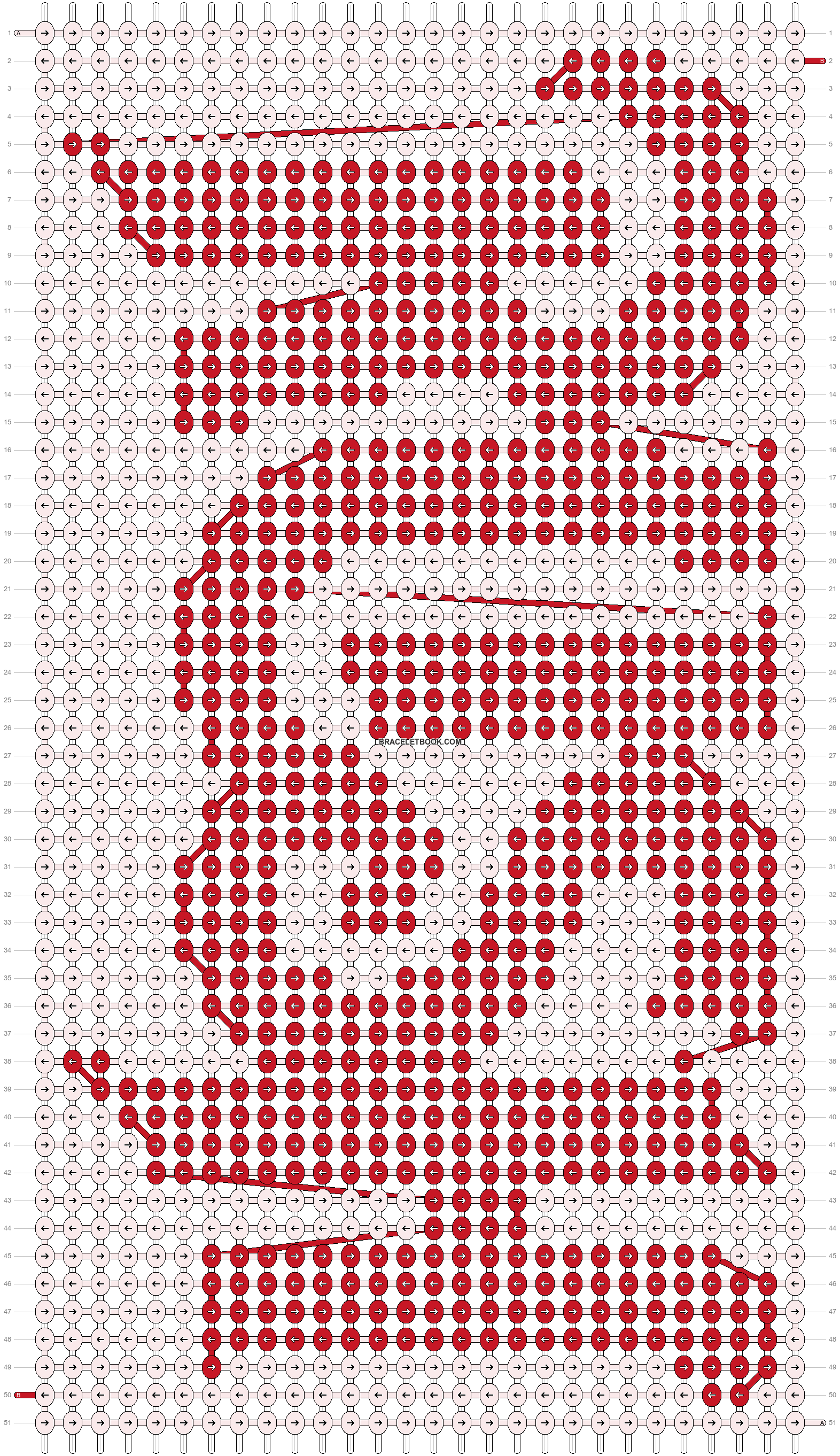 Alpha pattern #21136 pattern