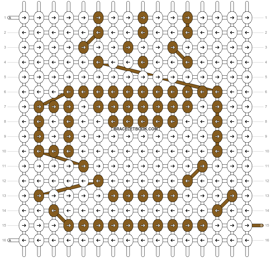 Alpha pattern #21141 pattern